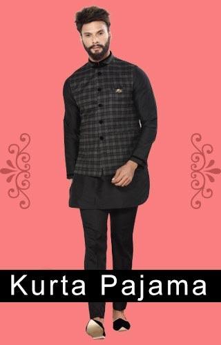 Kurta Pajama - Buy Indian ethnic wear
