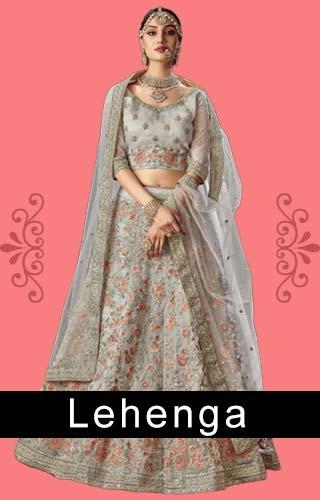 Lehenga's - Indian ethnic dress online