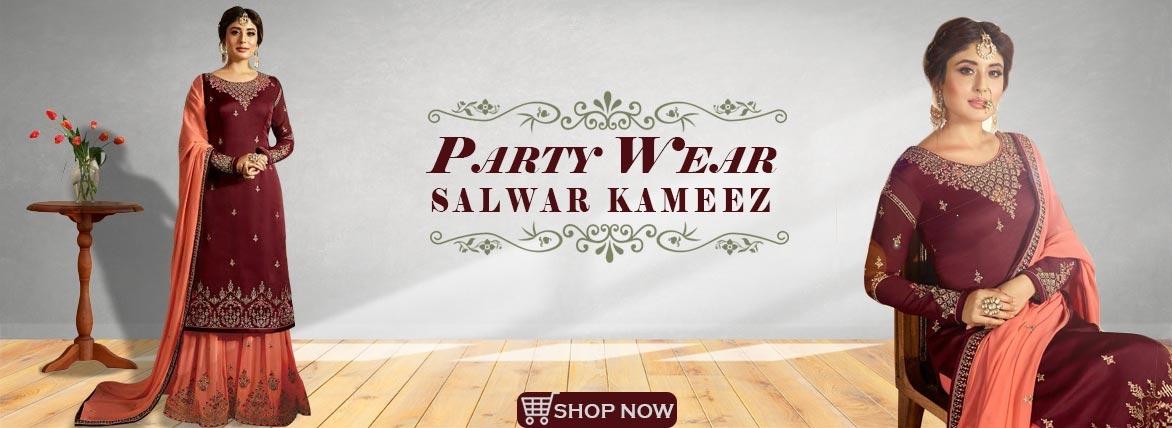 Sharara Salwar Kameez,Indian Salwar Kameez Online